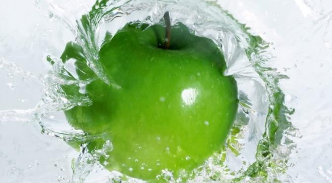Green apple against headache