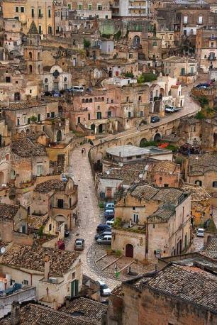 Sassi di Matera, Italia