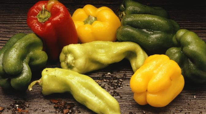 The Vegetable Pepper is useful for staying healthy