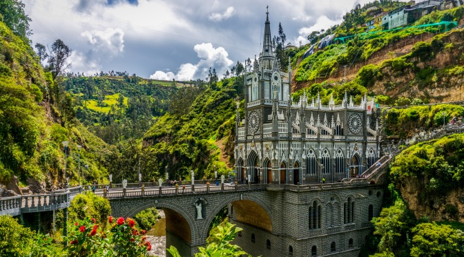Las Lajas Sanctuary, Columbia