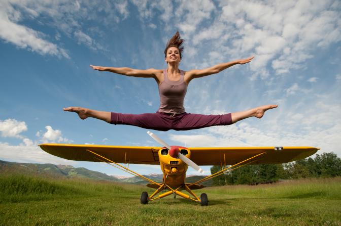 VIDEO: Sensual yoga