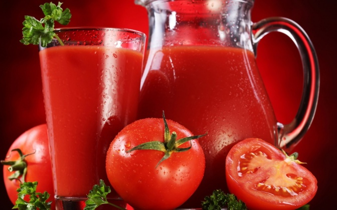 Tomato juice – more effective than energy drinks